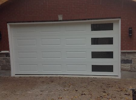Residential garage doors hamilton door systems Garage with doors on both sides