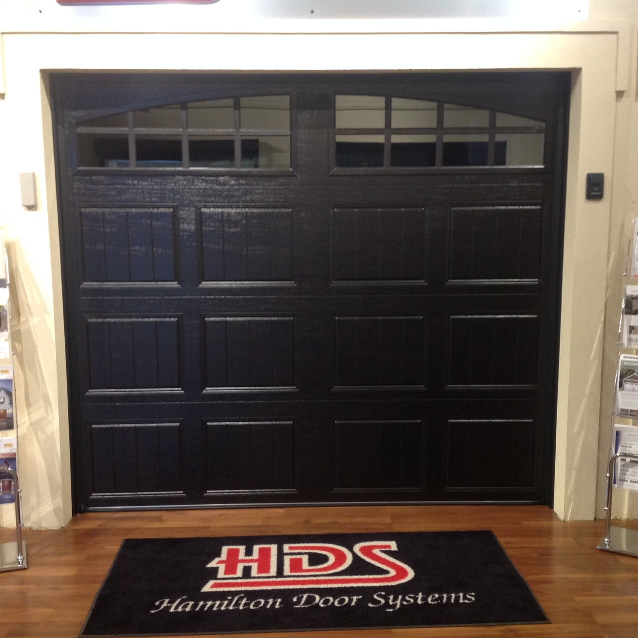 Hamilton door systems garage door repair service gallery small panel design in black solutioingenieria Image collections