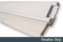 let us quote you on installing your garage door seal
